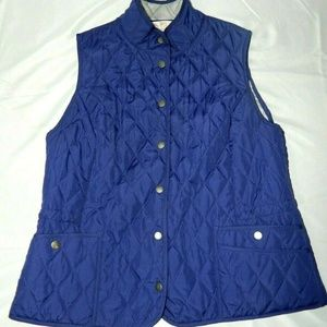 Northern Reflections Large Purple Quilted Vest
